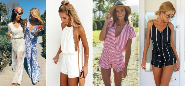 rompers & jumpsuits Collage